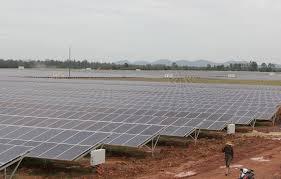 Dự án Nhà máy điện mặt trời Jang Pông chính thức đi vào hoạt động