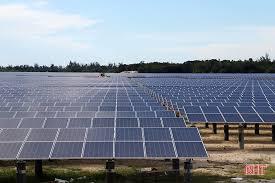 Dự án nhà máy điện mặt trời Cẩm Hòa chuẩn bị phát điện lên lưới quốc gia