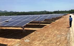 Vận hành dự án nhà máy điện mặt trời hơn 1.100 tỉ đồng tại Quảng Ngãi
